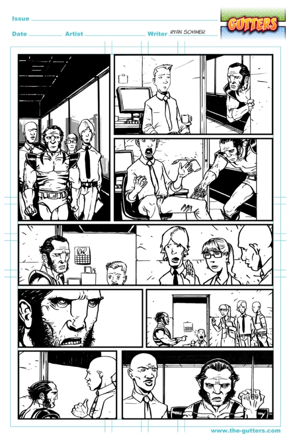 Jeff McComsey Sequential art